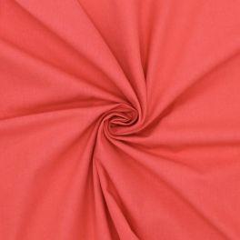 Tissu cretonne uni grenadine
