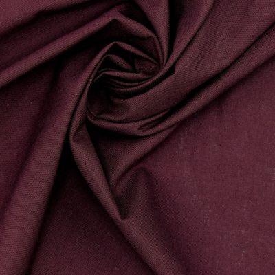 100% cotton - plain plum