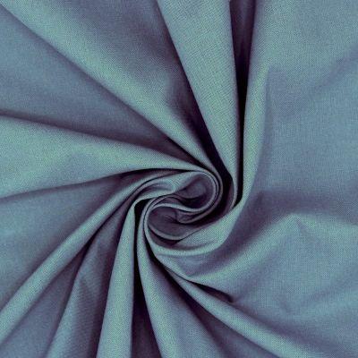 100% cotton - plain blue