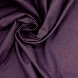 100% cotton - plain bishop purple