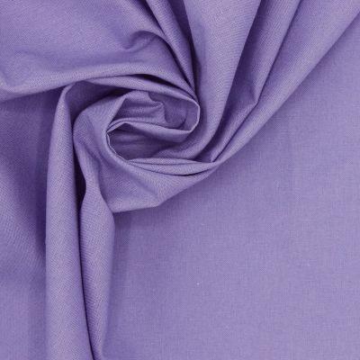100% cotton - plain purple