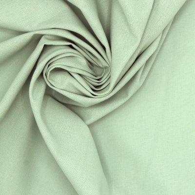 100% cotton - plain sea green