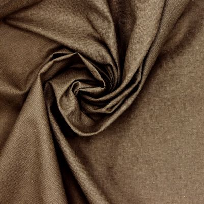 100% cotton - plain taupe