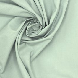 Tissu 100% coton uni ciel