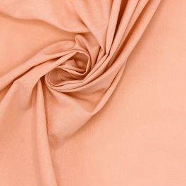 Tissu 100% coton uni saumon