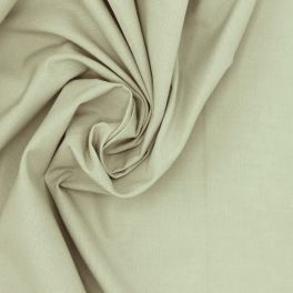 Tissu 100% coton uni vert sauge