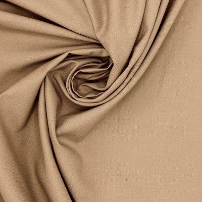 100% cotton - plain hazelnut