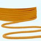 cordon tricoté moutarde