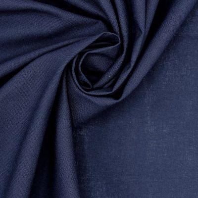 100% cotton - plain navy blue
