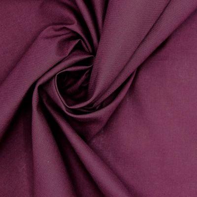 100% cotton - plain grape purple