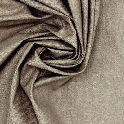 100% cotton - plain mice grey