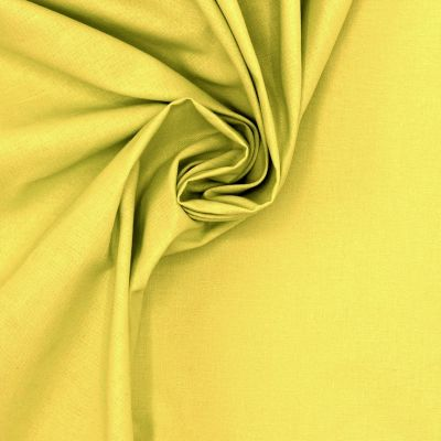 100% cotton - plain lime green