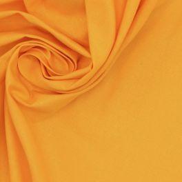 Tissu 100% coton jaune soleil