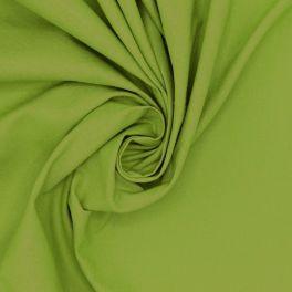100% cotton - plain chartreuse green