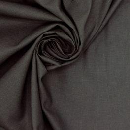 Tissu 100% coton uni anthracite