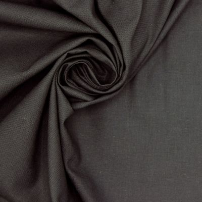 100% cotton - plain antracite