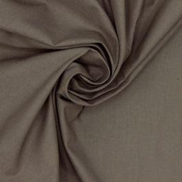 100% cotton - plain slate grey