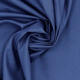 100% cotton - plain royal blue