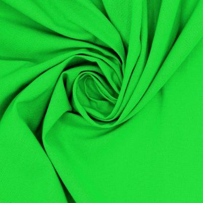 100% cotton - plain green