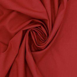 Tissu 100% coton uni bordeaux