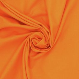 100% cotton - plain orange