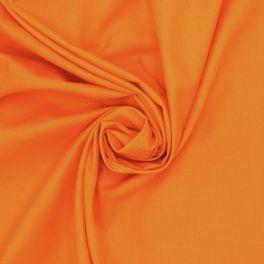 Tissu 100% coton uni orange