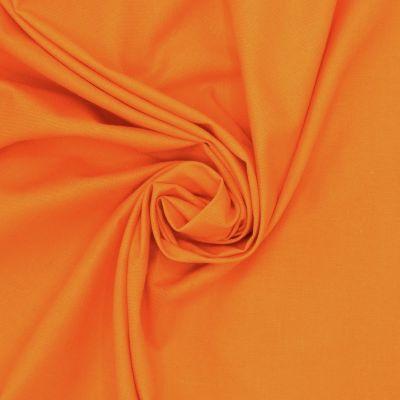100% katoen - effen oranje