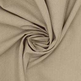 Tissu 100% coton uni galet