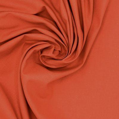 100% cotton - plain brick red