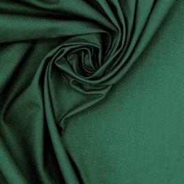 100% cotton - plain spurce green