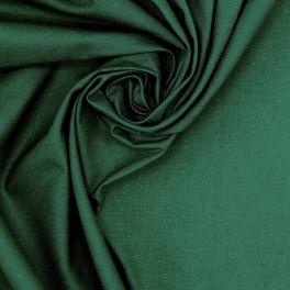 100% cotton - plain spurce green