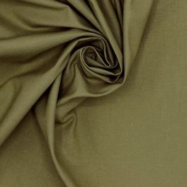 100% cotton - plain khaki