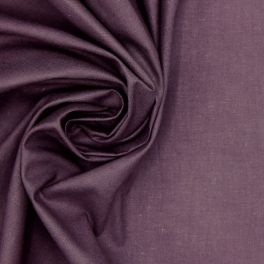 100% cotton - plain fig violet