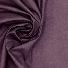 Tissu 100% coton uni figue