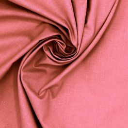 100% cotton - plain lychee pink