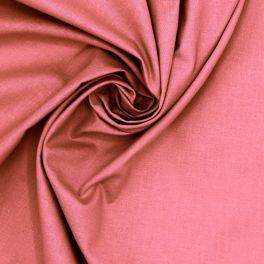 Tissu 100% coton  rose litchi