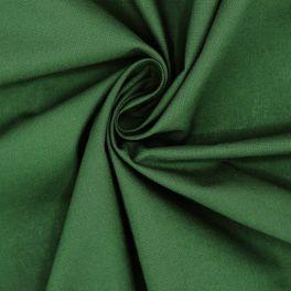 Tissu 100% coton vert bouteille