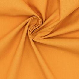 Tissu 100% coton uni ambre