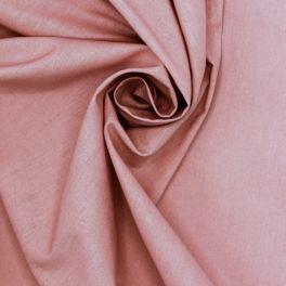 Tissu 100% coton vieux rose