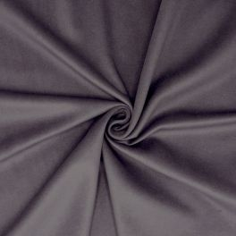 Fabric with smooth velvet effect - plum