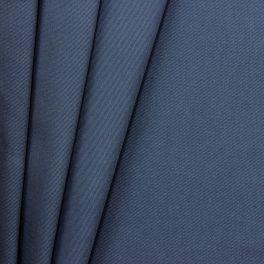 100% katoen met keperbinding - denimblauw