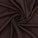 Ribbed jersey - brown
