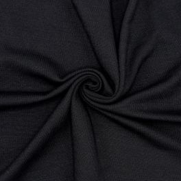 Mesh fabric in polyester - black
