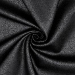 Jersey effet cuir vieilli noir