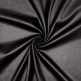 Jersey Milano effet waxé noir