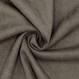 Tissu maille effet cuir vieilli éléphant