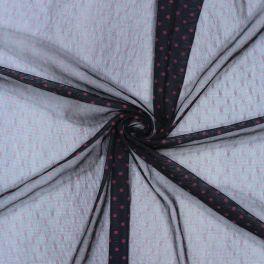 Jersey voeringstof  met stippen 100% polyester