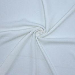 Crêpe gaufrée unie blanche