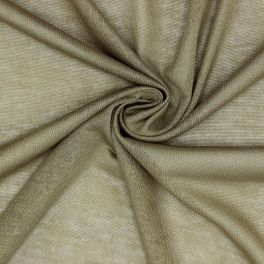 Tissu maille légère en polyester kaki