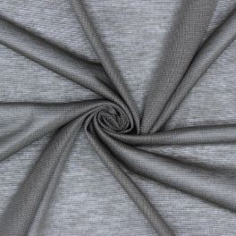 Tissu maille légère en polyester taupe